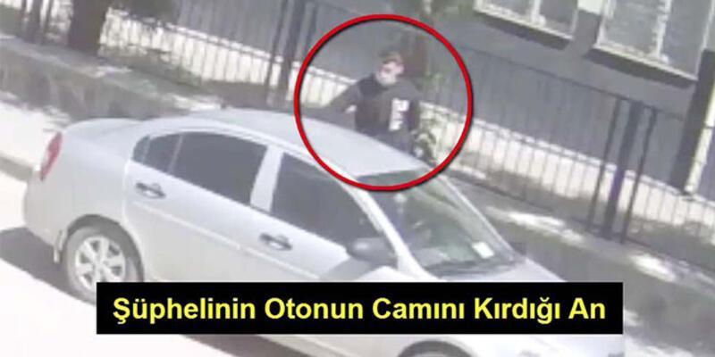 Görüntüler açığa çıkardı! Hırsız yakayı ele verdi!
