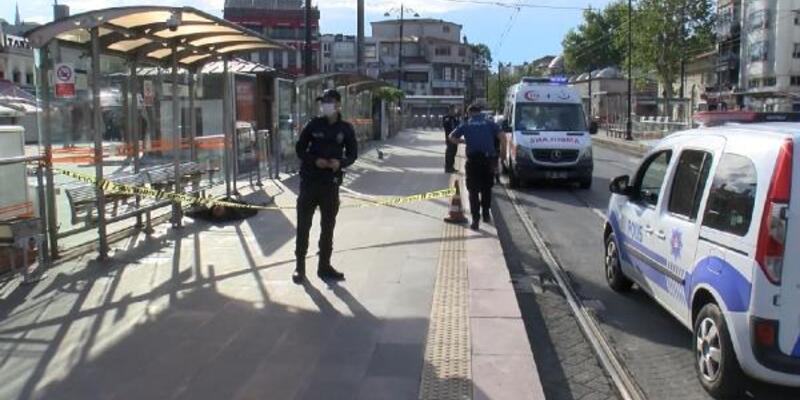 Beyazıt Tramvay Durağı'nda ceset bulundu