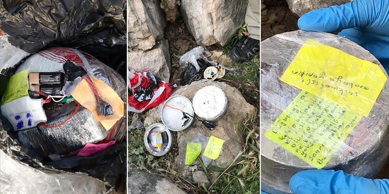 Diyarbakır'da ele geçirilen bombalarla ilgili 4 kişi tutuklandı