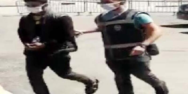 Kameradan belirlenip, yakalanan hırsızlık şüphelisi tutuklandı