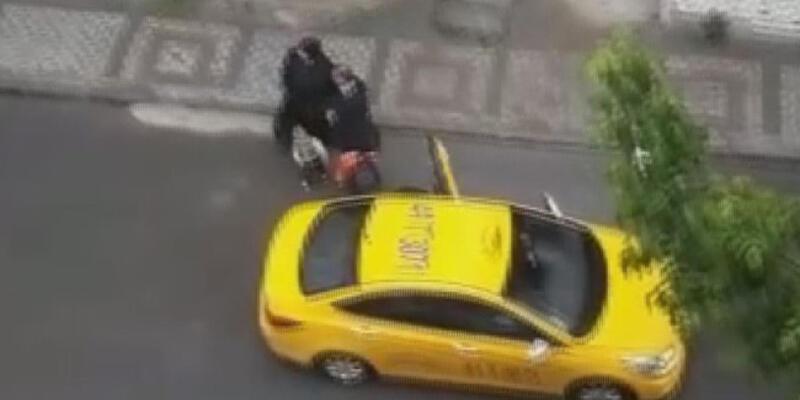 Taksicinin araba pislenir diye aracından indirdiği hamile kadın, sokakta doğum yaptı