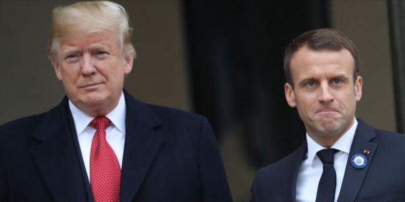 Trump ve Macron G-7 Liderler Zirvesi'nin yapılmasını istiyor