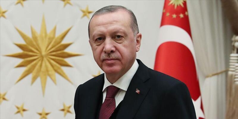 """Cumhurbaşkanı Erdoğan'dan """"Fatih Sondaj Gemisi"""" paylaşımı"""