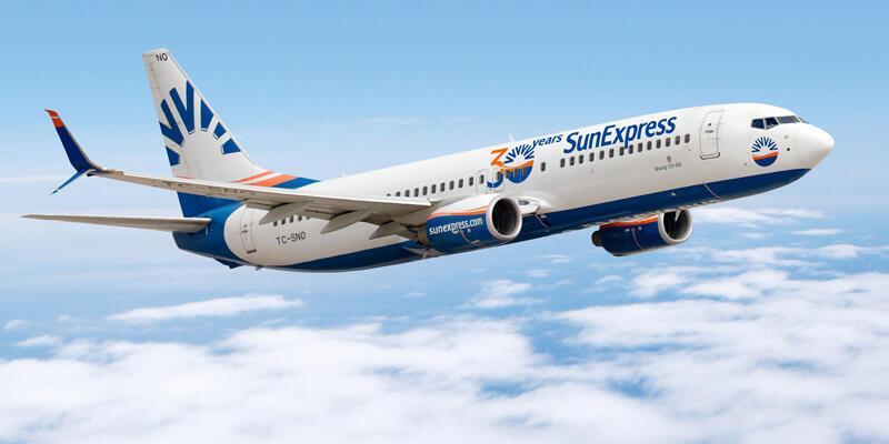 SunExpress, 1 Haziran'da iç hat uçuşlarına başlayacak