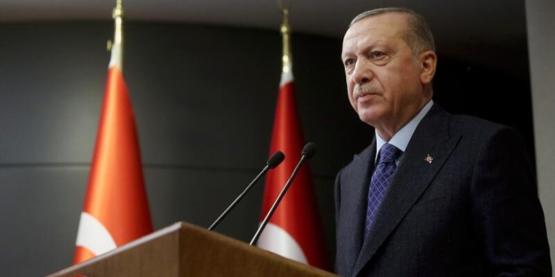 Cumhurbaşkanı Erdoğan'dan şehit askerler ve polisin ailelerine taziye mesajı