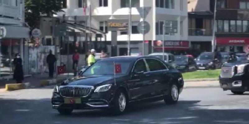 Cumhurbaşkanı Erdoğan İstanbul'dan Ankara'ya gidiyor