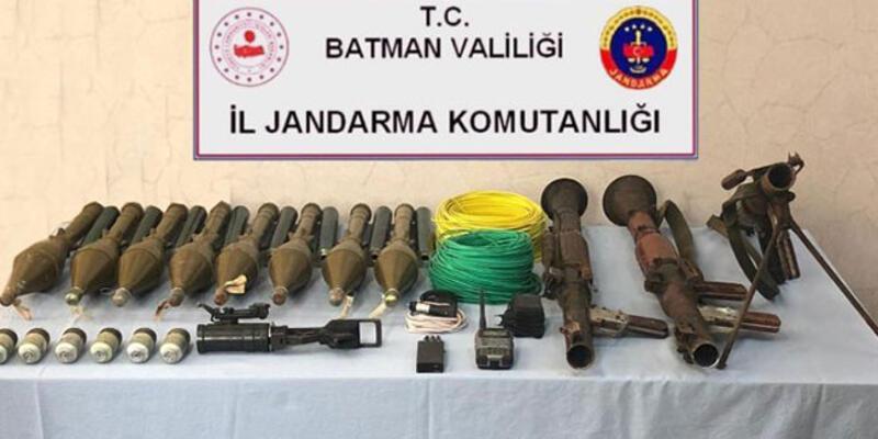 Batman'da terör örgütü PKK'ya darbe