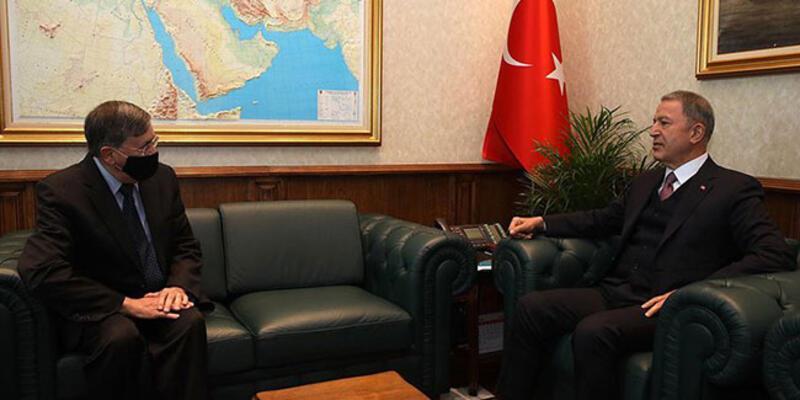 Bakan Akar, ABD'nin Ankara Büyükelçisi'ni kabul etti