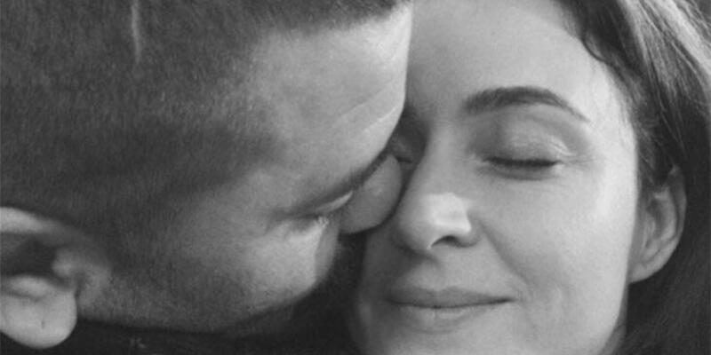 Ceyda Düvenci eşi Bülent Şakrak'ı böyle uğurladı