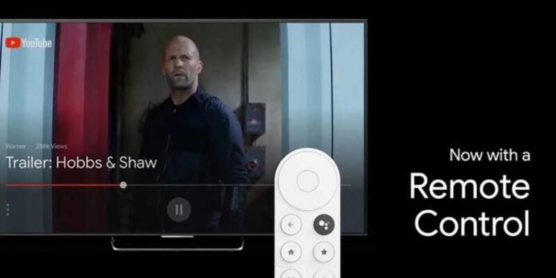 Google'ın Android TV üzerinde çalıştırıldı