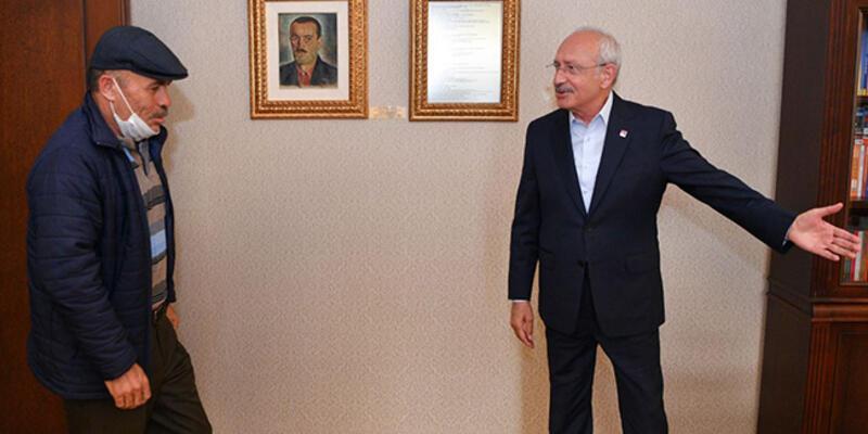 Kılıçdaroğlu, Çubuklu şehidin babası ile görüştü