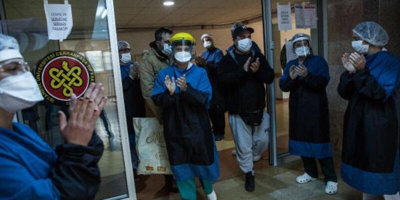 Cerrahpaşa'da koronavirüsle mücadele: Günde 400 hastadan 40 hastaya...