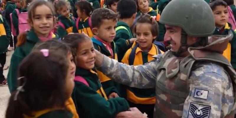 MSB: Savaş mağduru çocuklara umut olmaya devam edeceğiz
