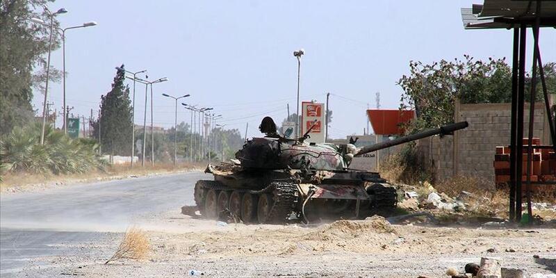 Libya ordusu Terhune'yi kontrol altına aldı