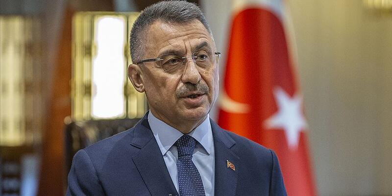 Cumhurbaşkanı Yardımcısı Oktay'dan 'Bizans bayrağı' tepkisi