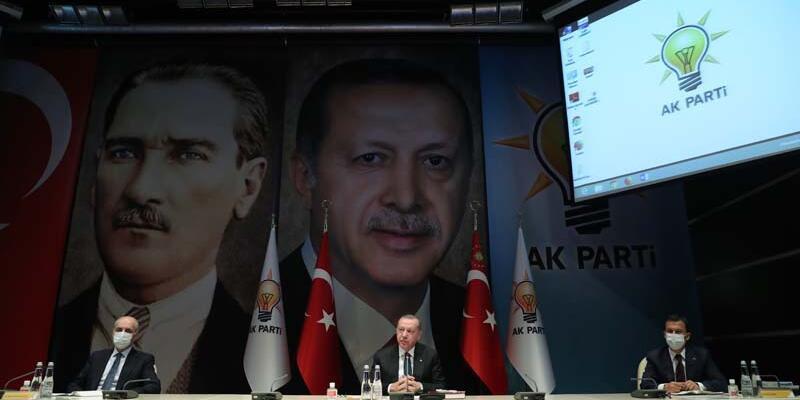 AK Parti MKYK, Cumhurbaşkanı Erdoğan başkanlığında toplandı