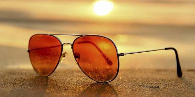 Güneş yüzünü gösterdi... Sahte güneş gözlüğüne dikkat!