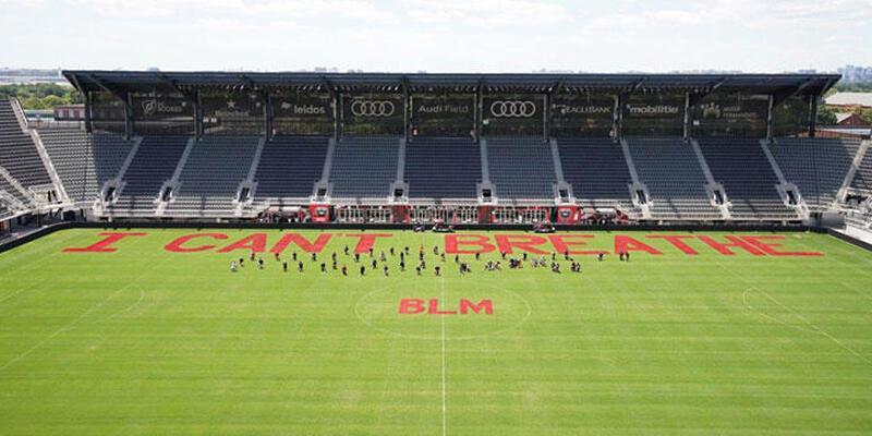 MLS'ten George Floyd protestolarına destek