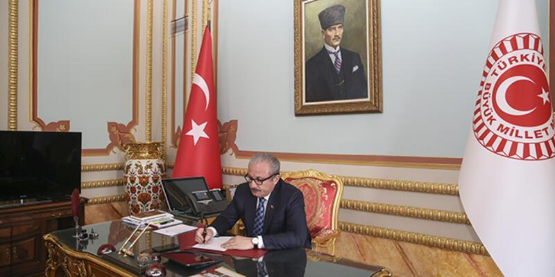 TBMM Başkanı Şentop'tan 'Yassıada kararları' teklifi