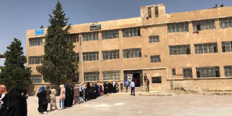 MSB: Suriyeli öğrencilerin, sınıf bitirme sınavları başladı