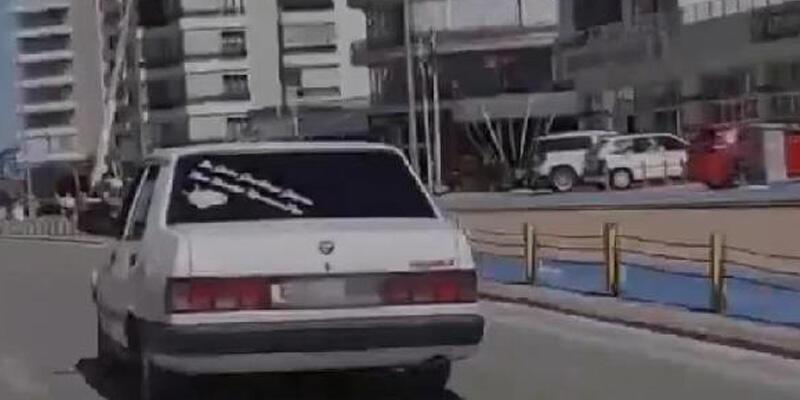 Drift yapıp, polisten kaçtı! Savunmasıyla pes dedirtti