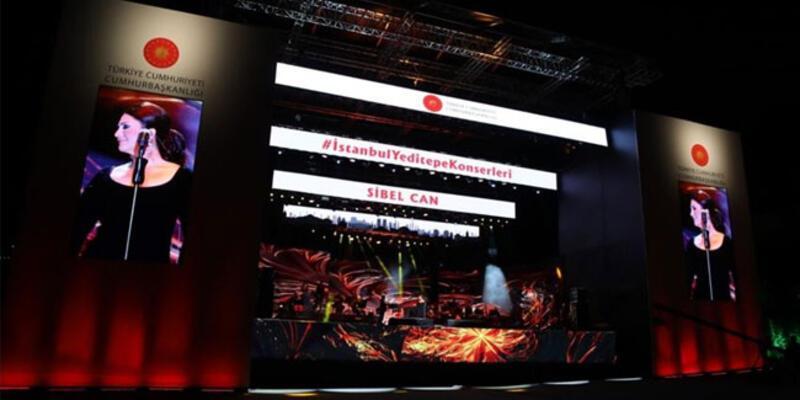 """İletişim Başkanlığı'ndan """"İstanbul Yeditepe Konserleri"""" açıklaması"""