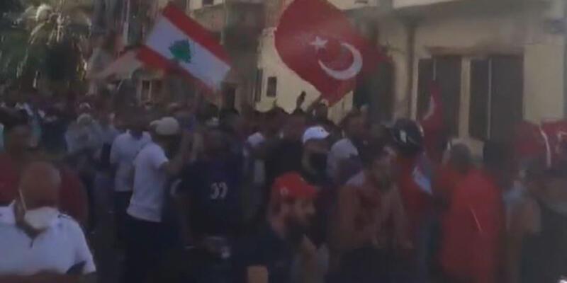Lübnan'da sunucu Türkiye'ye hakaret edince Lübnanlılar sokağa döküldü