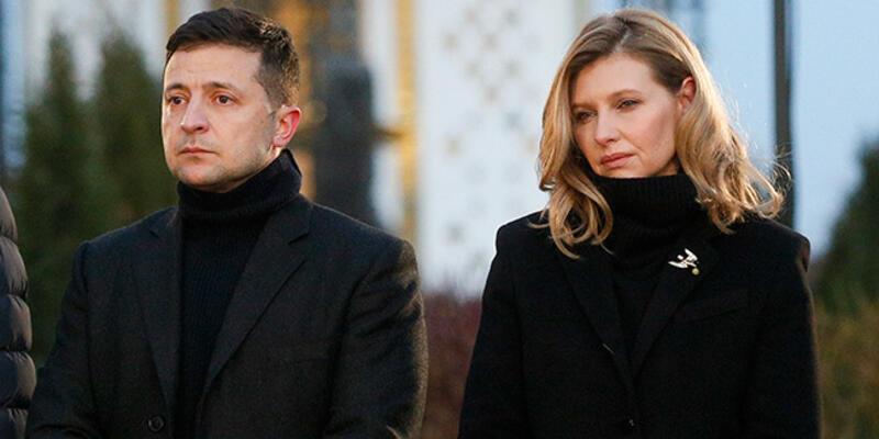 Son dakika... Ukrayna Devlet Başkanı Zelenski'nin eşi koronavirüse yakalandı