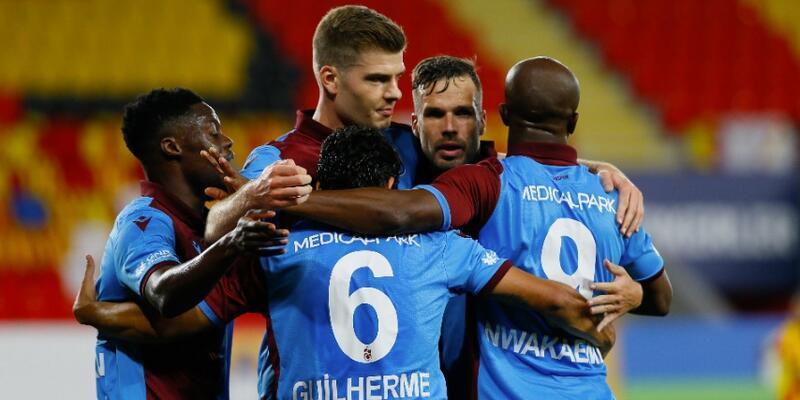 Trabzonspor 3 ay sonra 3 golle kazandı