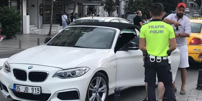 'Polisim' diyerek alkollü araç kullanan Iraklıya ceza
