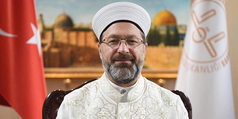 Diyanet İşleri Başkanı Erbaş'tan, 'Kudüs' açıklaması