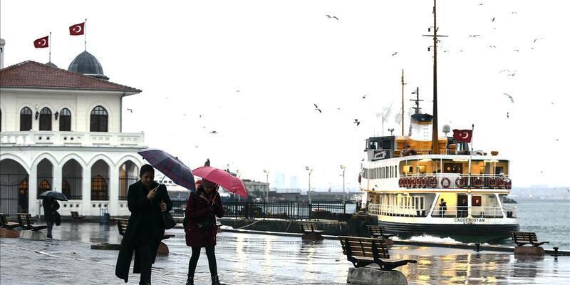 Son dakika: İstanbul'da yağmur ne kadar sürecek?