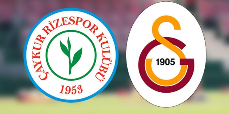Ç. Rizespor - Galatasaray maçı hangi kanalda, saat kaçta? İşte Galatasaray'ın muhtemel 11'i