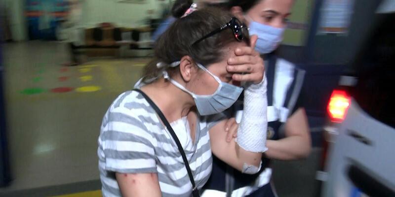 Eski erkek arkadaşının yüzüne kezzap atan kadın tutuklandı