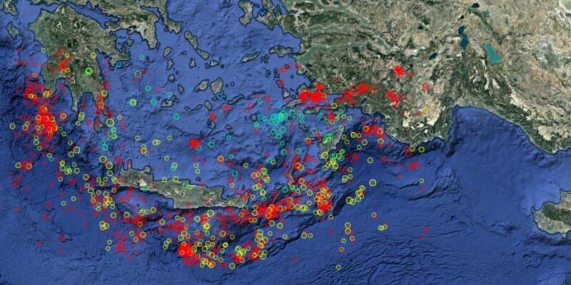 Son dakika: Mühendisler uyardı! Helen Yayı'nda 7 büyüklüğündeki deprem beklentisi...