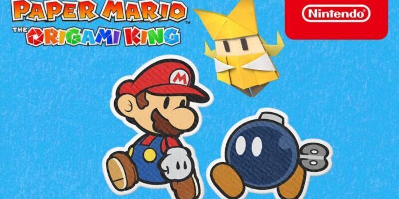 Paper Mario The Origami King için geri sayım başladı