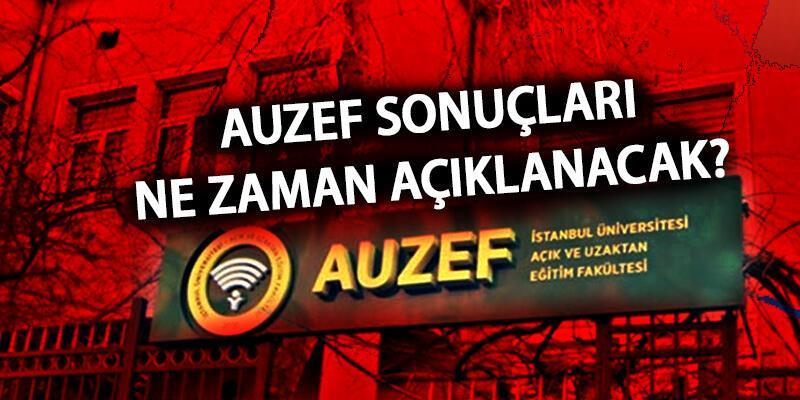 AUZEF sınav sonuçları açıklandı mı? AUZEF aos.istanbul.edu tr