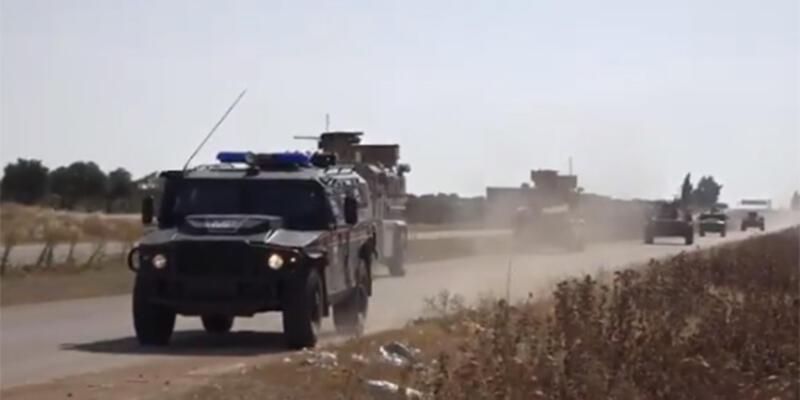 Son dakika: MSB: İdlib'de 17'nci Türk-Rus Birleşik Kara Devriyesi icra edildi