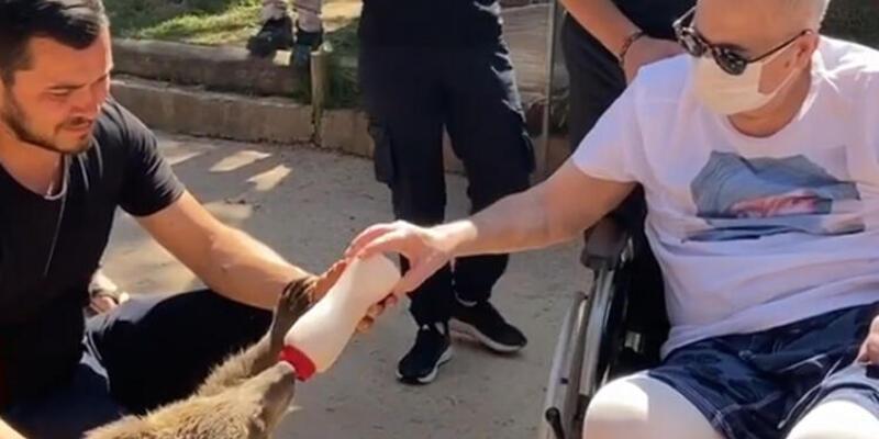 Mehmet Ali Erbil hayvanat bahçesini ziyaret etti!