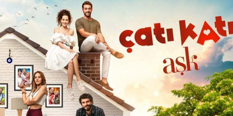 """""""Çatı Katı Aşk""""ın afişi yayınlandı..."""