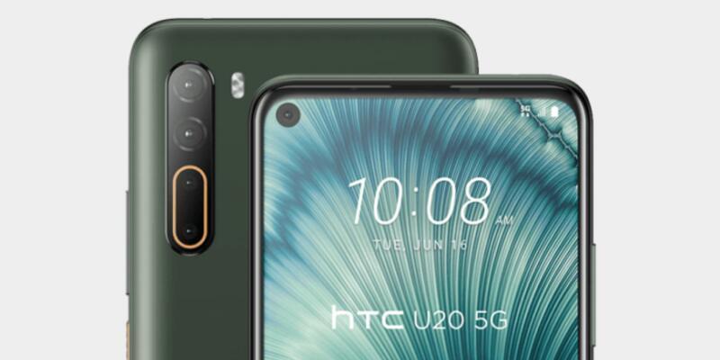HTC U20 5G ile karşımıza çıktı