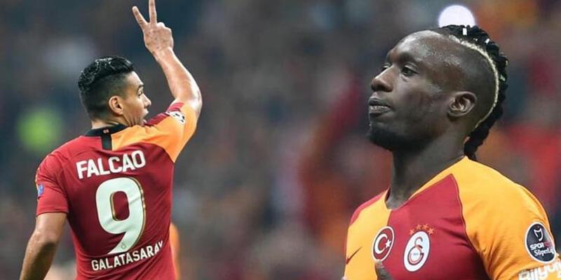 Galatasaray'da Falcao şoku! Diagne'nin gerisinde kaldı