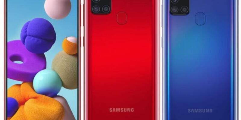 Samsung'un giriş-orta seviyesi telefonu tanıtıldı