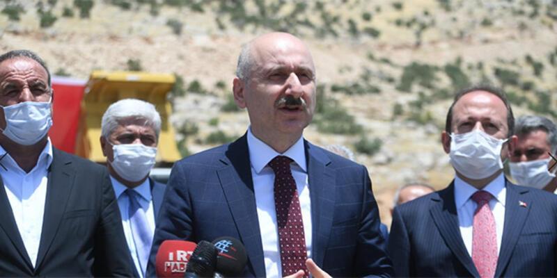 Bakan Karaismailoğlu, Cizre'de temaslarda bulundu