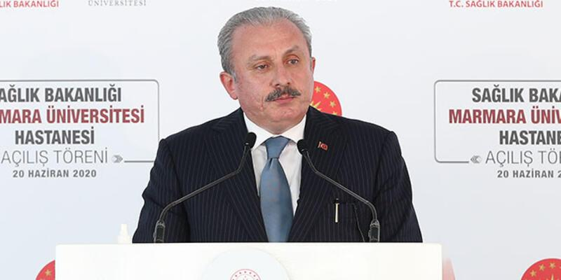 Son dakika haberi... Meclis Başkanı Mustafa Şentop: 100'den fazla ülkenin yardımına koştuk