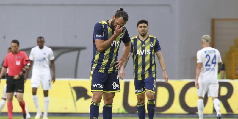 Fenerbahçe Kasımpaşa'ya kaybetti
