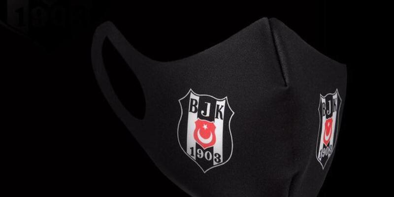 Beşiktaş logolu maskeler satışa çıktı