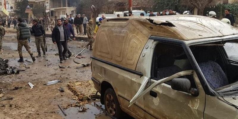 Son dakika... Afrin'de bombalı terör saldırısı: 2 ölü, 5 yaralı