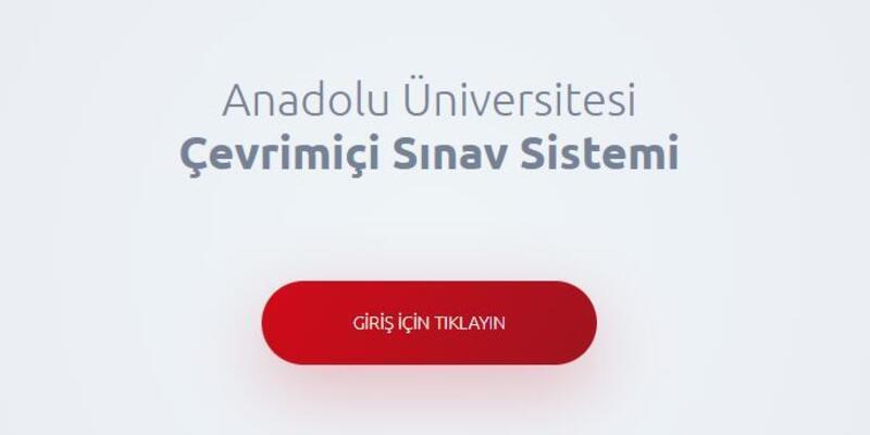 Anadolu Üniversitesi AÖF bahar dönemi final sınavları başladı! (AÜ 2020 AÖF dönem sonu sınavı)