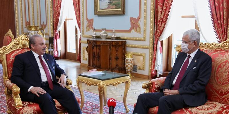Son dakika: Volkan Bozkır'dan Meclis Başkanı Şentop'a ziyaret